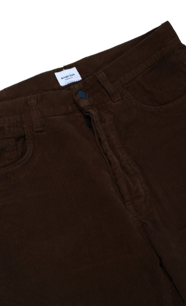 Pantaloni Original Brown Velluto | Wooden Store